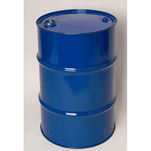 30 Gal Closed-Top Steel Drum Blue with Standard Rust Inhibitor Lining Tight Head Solid Mould