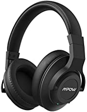Mpows Casque Réduction Active de Bruit H12 Casque Bluetooth Annulation Active de Bruit Casque Audio Pliable avec Micro pour PC/Téléphones Portables/TV
