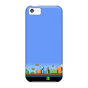 Case Cover Protector For Iphone 5c Mario Above And Under Ground Case