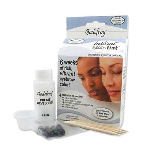 (3 Pack) GODEFROY Instant Eyebrow Tint - Medium (Instant Eyebrow)