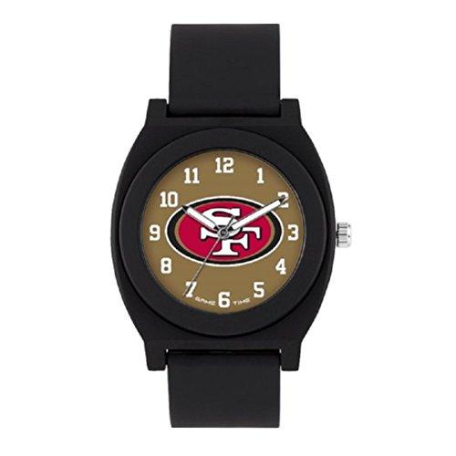 NFL San Francisco 49Ers Mens Fan Series Wrist Watch, Black, One Size
