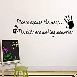 Wall Stickers Sofa background wall papers English word Living Room