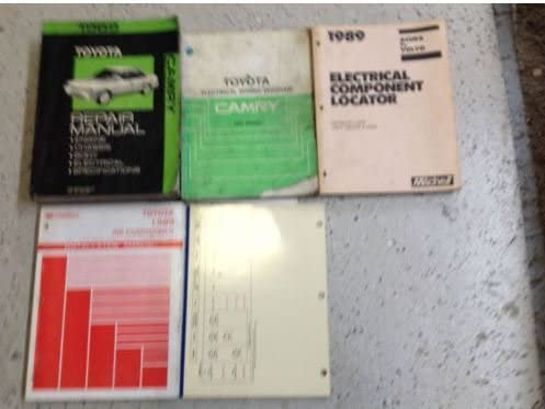 1989 toyota cressida service shop repair manual set oem w w ewd & features  oem