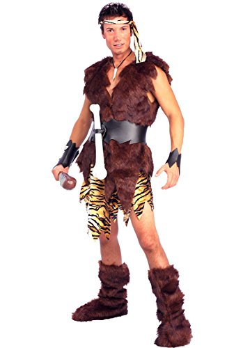 Forum Novelties Men's King Of Caves Costume, Brown, Standard