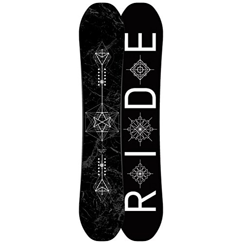 Ride Machete (Ride Machete GT Snowboard 2018 Black White 157)