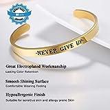 PROSTEEL Gold Bangle Mens Cuff Bracelet Metal
