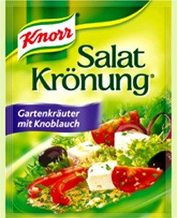Garden Herbs Salad Dressing - Knorr Garden Herbs with Garlic Salad Dressing - 5 Pcs