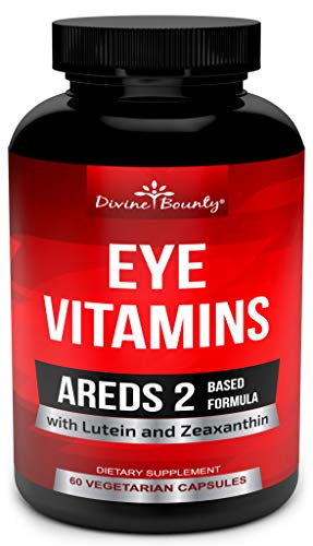 AREDS Vitamins Lutein Zeaxanthin Supplements product image