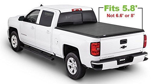 Tonno Pro Tonno Fold 42-101 TRI-FOLD Truck Bed Tonneau Cover 2004-2006 Chevrolet Silverado 1500, 2500 HD, 3500 / GMC Sierra 1500, 2500, 3500 | Fits 5.8' Bed | Also fits (3500 Tonno Pro Tri Fold)