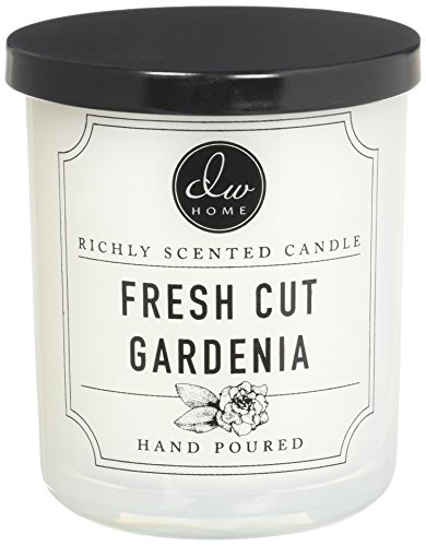 Dw Home Fresh Cut Gardenia Richly Scented Candle Small Single Wick 4 oz. from DW Home