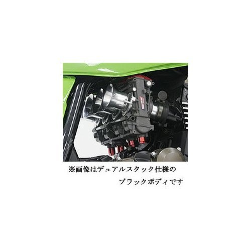 Yoshimura Keihin FCR-MJN39 carburetor funnel specification black body ZRX1200R ZRX1200S ZRX1100 ZRX1100-2 759-299-2600