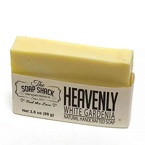White Gardenia Soap-Handmade Soap-Cold Process Soap-Smells of White Gardenia blended with ylang and lily-By The Soap Shack