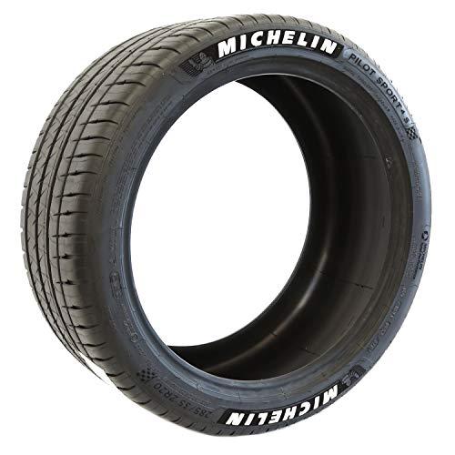 Michelin Pilot Sport 4 S Performance Radial Raised White Letter Tire - 275/35 ZR19 100Y