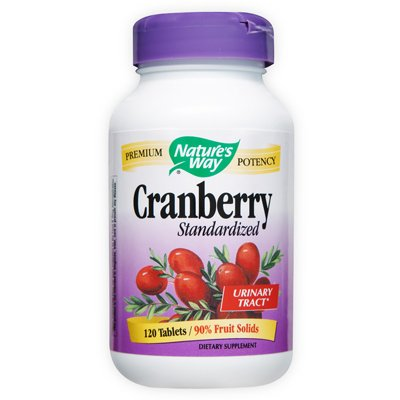 Nature's Way Cranberry Standardized -- 400 mg - 120 (Natures Way Standardized Cranberry)