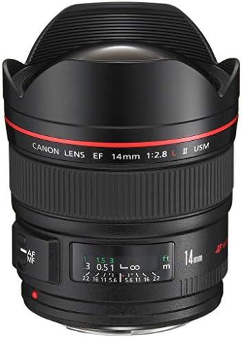 Canon EF 14 MM F/2.8L II USM - Objetivo para cámaras Canon (7 ...