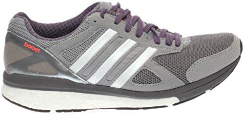 Scarpe Adidas Da Donna Adizero Tempo Boost 7 Running Sneaker Mid Grigio / Bianco / Nero