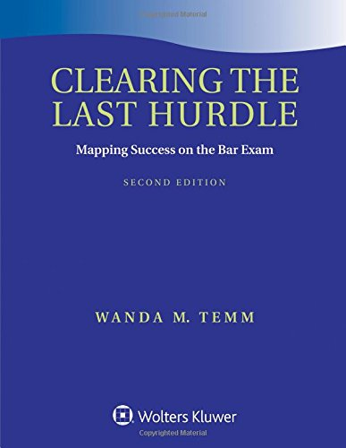 Pdf Law Clearing the Last Hurdle: Mapping Success on the Bar Exam (Academic Success)