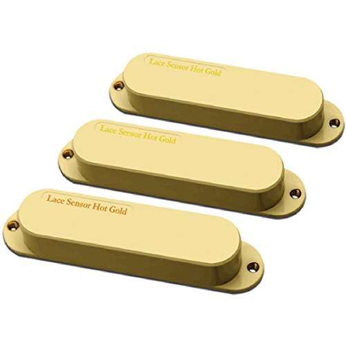 Lace Sensor Hot Gold with Hot Bridge 3-Pack White