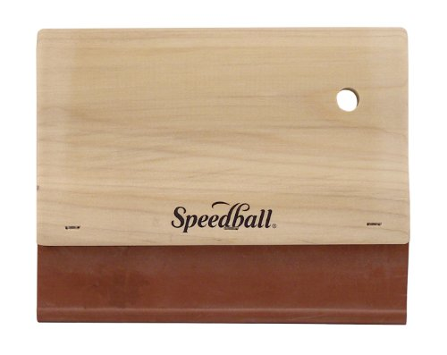 Speedball 6-Inch Fabric Squeegee for Screen Printing by Speedball