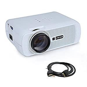 Crenova xpe460 led video projector home for Led projector ipad