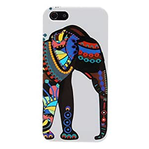 Ethnic Colorful Elephant Pattern Hard Case for iPhone 5/5S