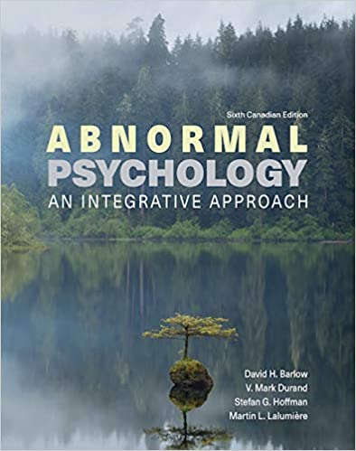 3I-EBK: Abnormal Psychology: An Integrative Approach, 6th Edition - Original PDF
