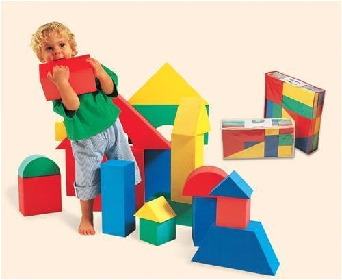 Giant Blocks (Edushape Giant Blocks, 32 Piece)