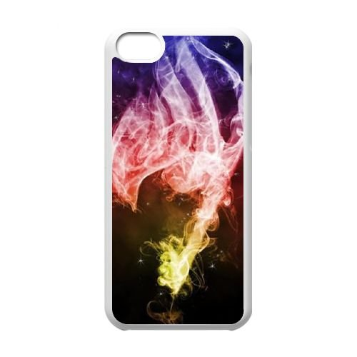 Fairy Tail 047 coque iPhone 5C Housse Blanc téléphone portable couverture de cas coque EOKXLLNCD13771