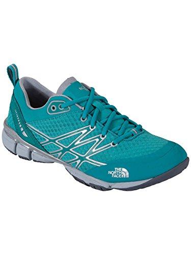 The North Face Ultra Kilowatt Running Shoe - Women's Jaiden Green/High Rise Grey, 10.0