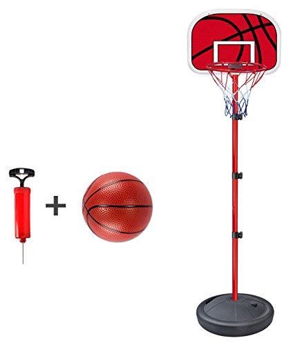 Basketballkorb mit Ball, höhenverstellbar