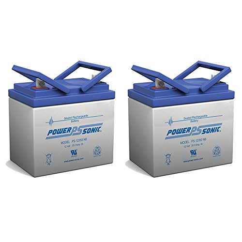 12V 35AH SLA Battery for AAA Robo Scooter Seguay 3000 - 2 Pack by Powersonic