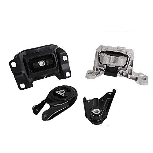 4PCS New Engine Motor & Trans Mount Set for 2004-2011 Mazda 3 2.0L (A4402 A4404 A4405 A4418)
