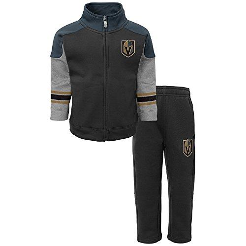 Childrens Knight (NHL Vegas Golden Knights Children Boys Shutdown Jacket & Pant Set, 2T, Black)