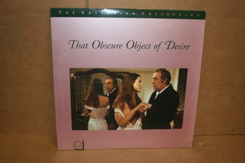 That Obscure Object of Desire CRITERION Laserdisc