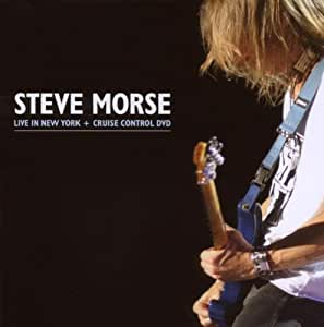 Steve Morse - Live In New York + Cruise Control DVD