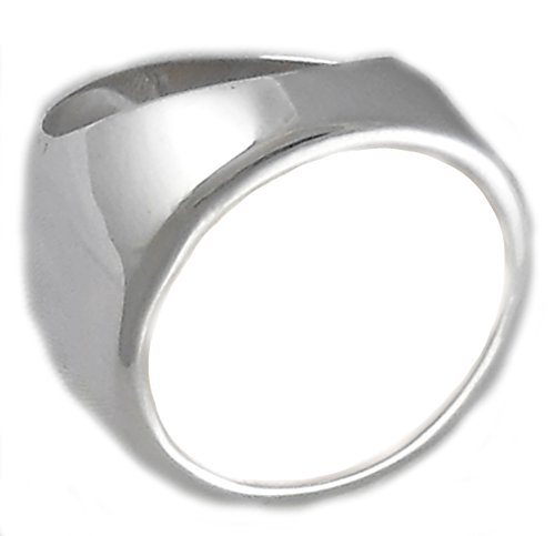 - 5 Peso Coin Ring Sterling Silver High Polished Coin Not Included