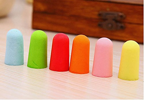 Soft Foam Earplugs, 32dB Highest NRR, Comfortable Ear Plugs for Sleeping, Snoring, Work, Travel and Loud Events by hle (Image #2)