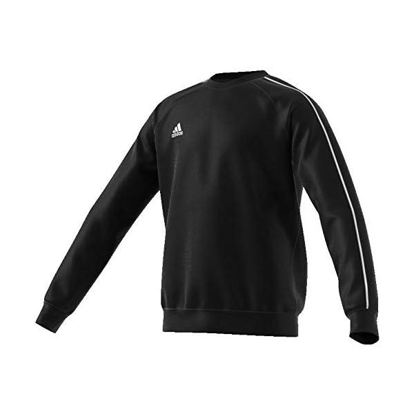 adidas - core18 sweat top felpa uomo
