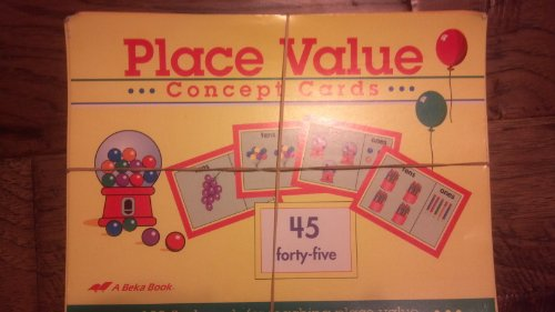 Abeka Place Value Concept Cards (100 flash cards for, used for sale  Delivered anywhere in USA