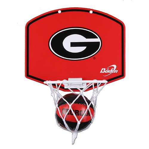 Georgia Bulldogs Hoop - Georgia Bulldogs Mini Basketball And Hoop Set