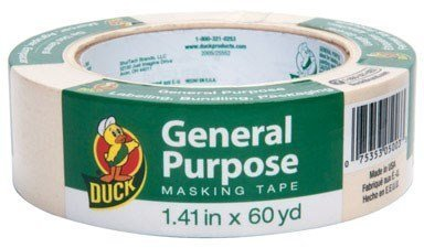 Duck General Use Masking Tape 1.41 X 60 Yard by Shurtech Brands
