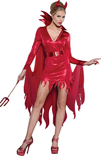 Hot Stuff Costumes For Women (InCharacter Costumes Women's Hot Stuff Devil Costume, Red, Large)
