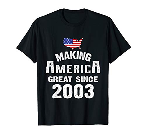 Make America Great Since 2003 16th Year Old 16 Birthday Gift