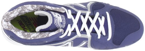New Balance Heren Mb3000 Mid-cut Baseball Cleat Blauw / Wit