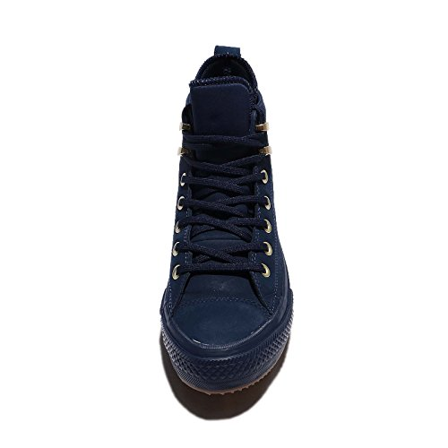 Boot brass Ctas Navy Basket Hi Converse Navy Midnight Wp 558820c qvwUn1t