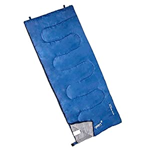 Gelert Unisex Hebog Rectangle Sleeping Bag Blue