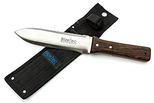 Amazon Lightning Deal 83% claimed: Hori Hori Knife: BlizeTec Multipurpose Gardening Digging Tool Kit