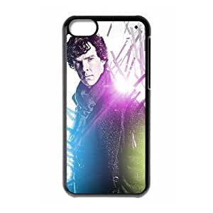 C-EUR Print Sherlock Pattern Hard Case for iphone 5c iphone 5c