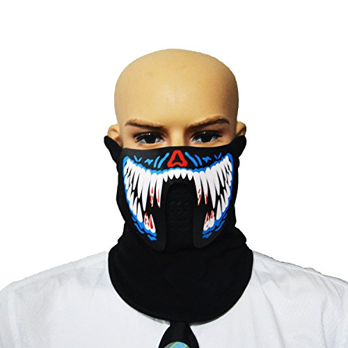 Led Light Up Mask - 1