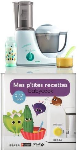 BÉABA Babycook Original Plus Mixeur GrisBleu + Mes p'tites